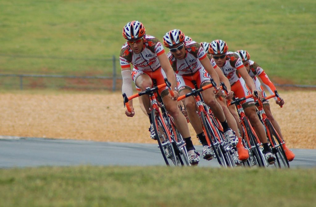 action, athletes, cyclists